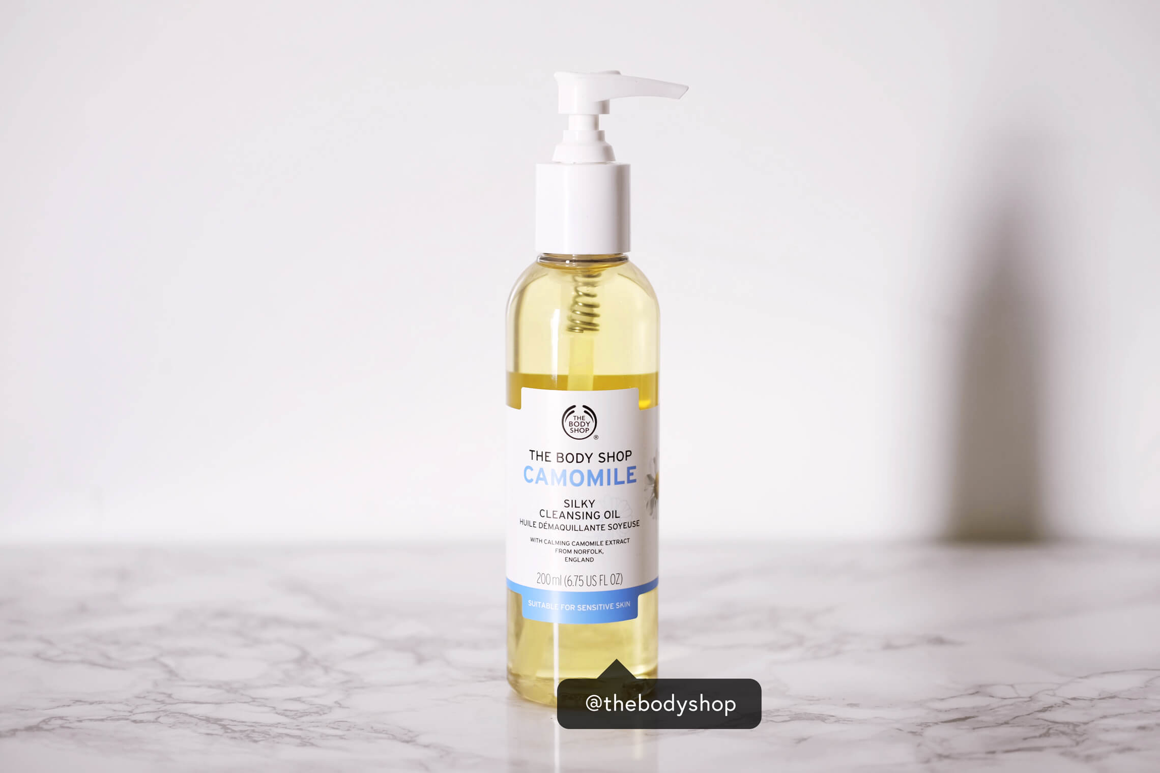 best skin care products 2018 the body shop camomile silky cleansing oil