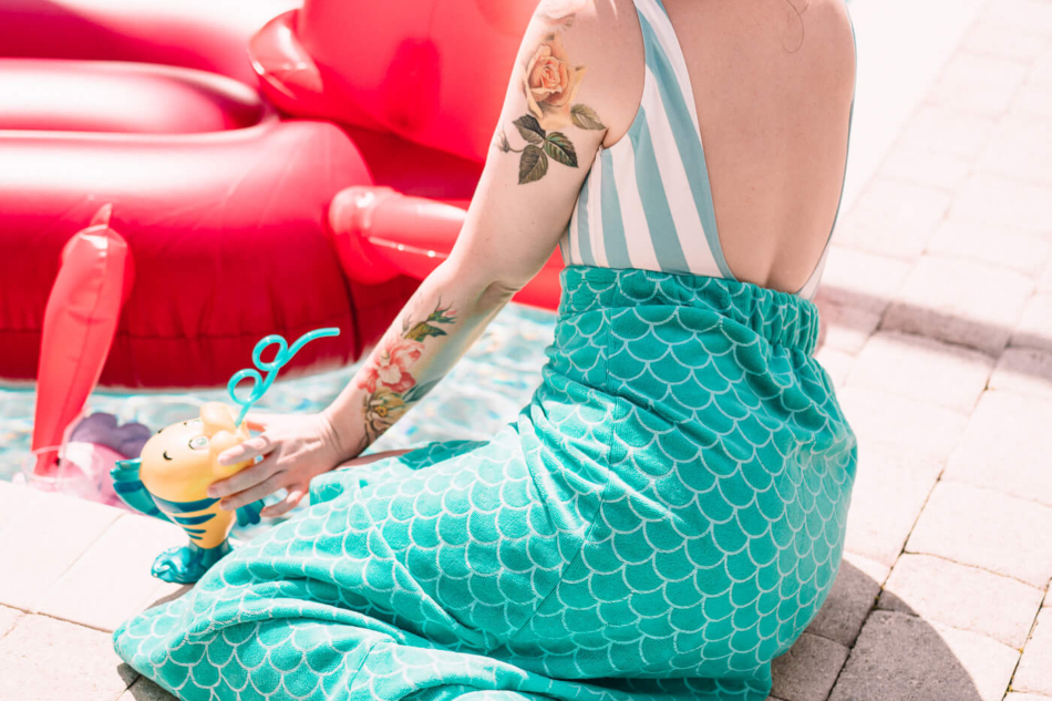 shop disney pool party little mermaid