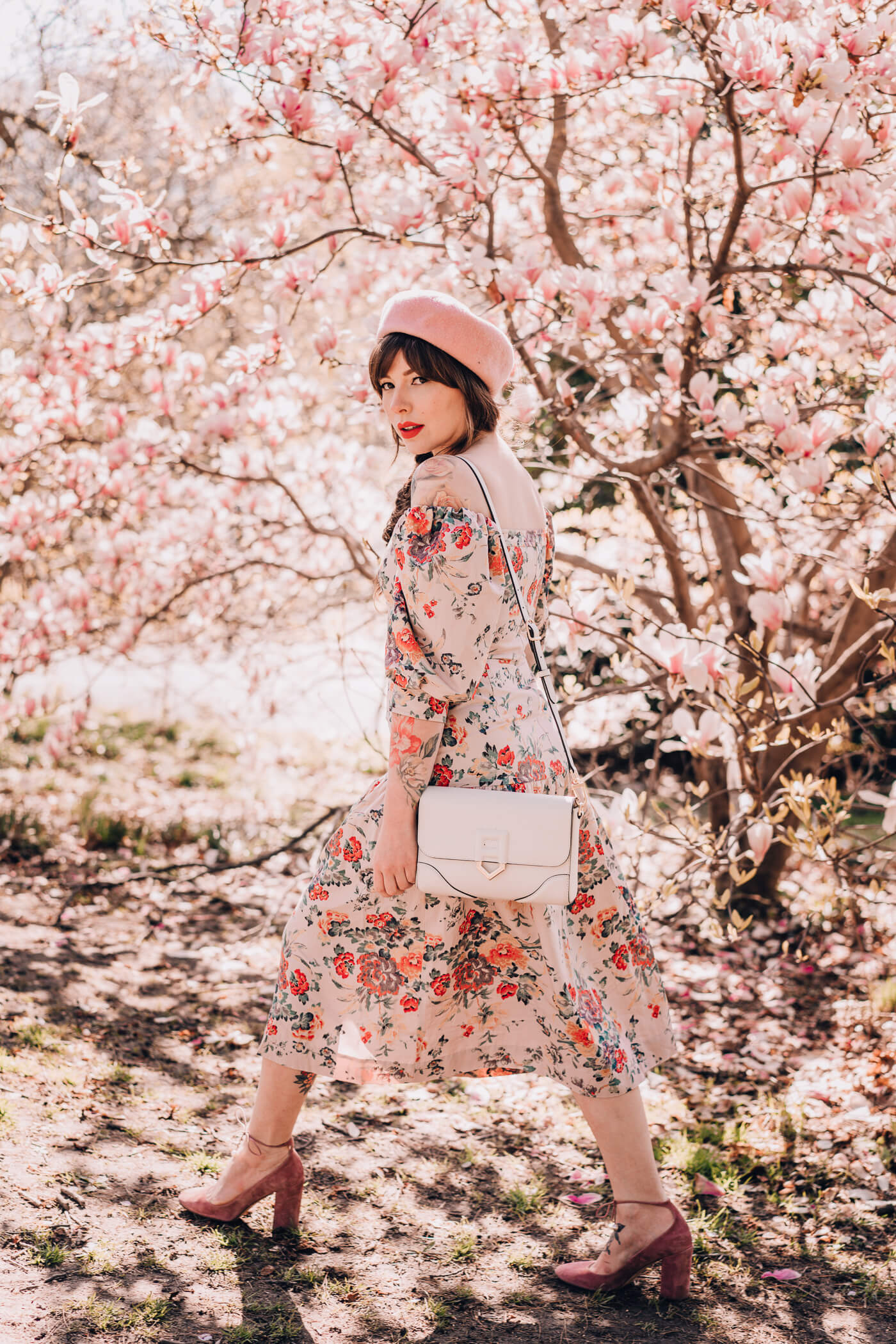 rebecca taylor dress, summer floral dress