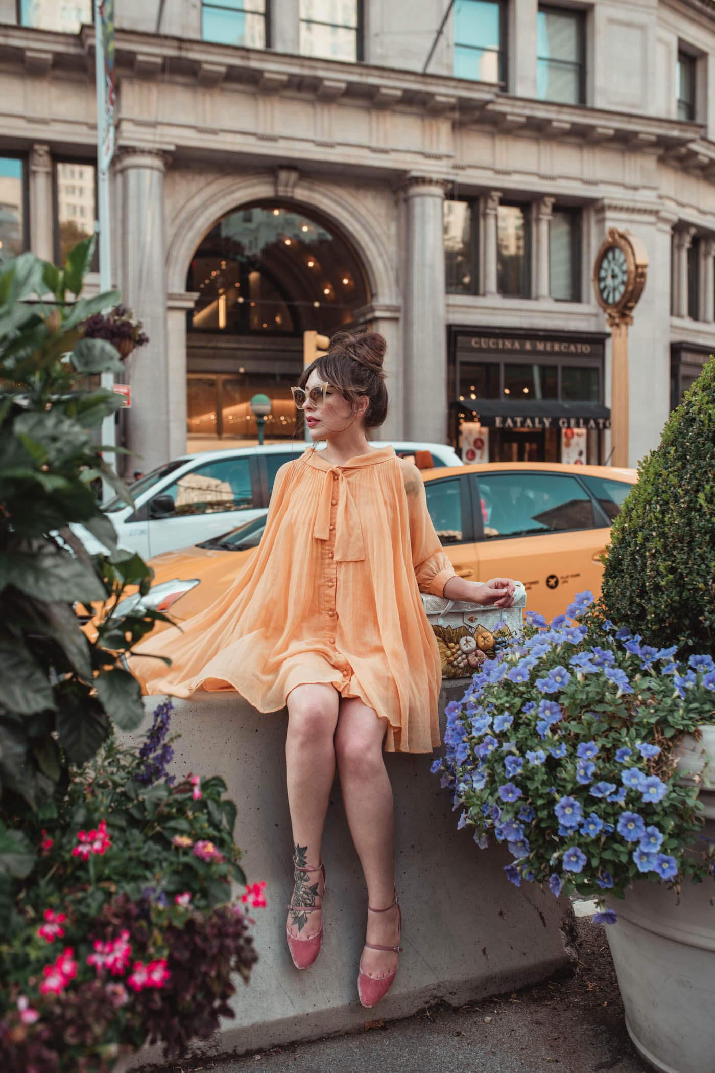 vintage trapeze dress Keiko Lynn