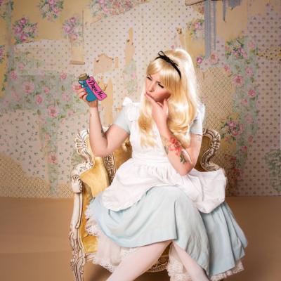Alice In Wonderland halloween costume keiko lynn