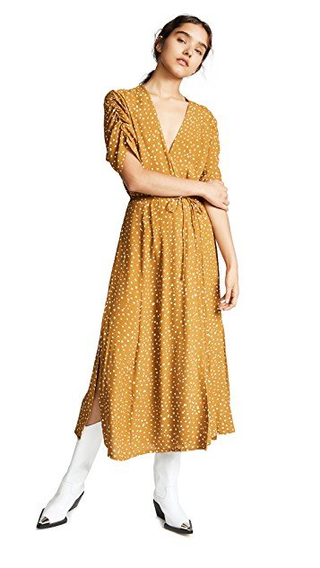 faithfull midi dress