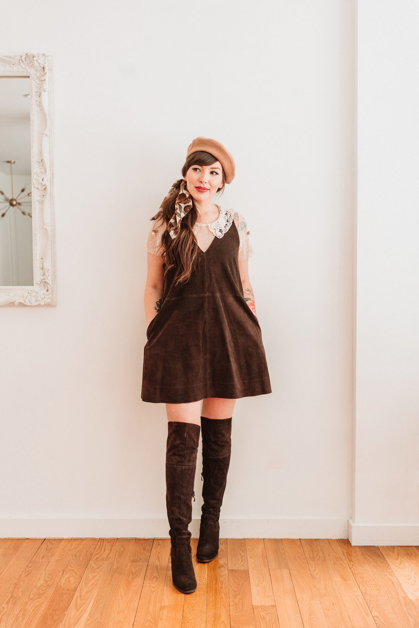 a973e3cfe2cae Four Ways to Style a Teddy Coat