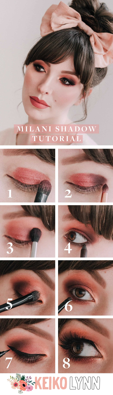 milani eyeshadow palette tutorial