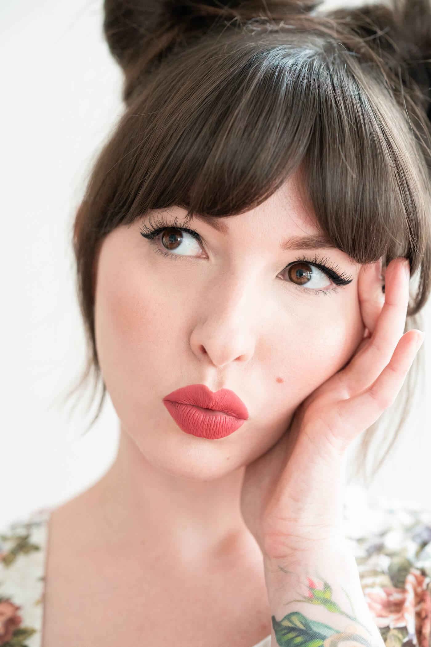 best rosy lipstick charlotte tilbury too bad i'm bad liquid lipstick