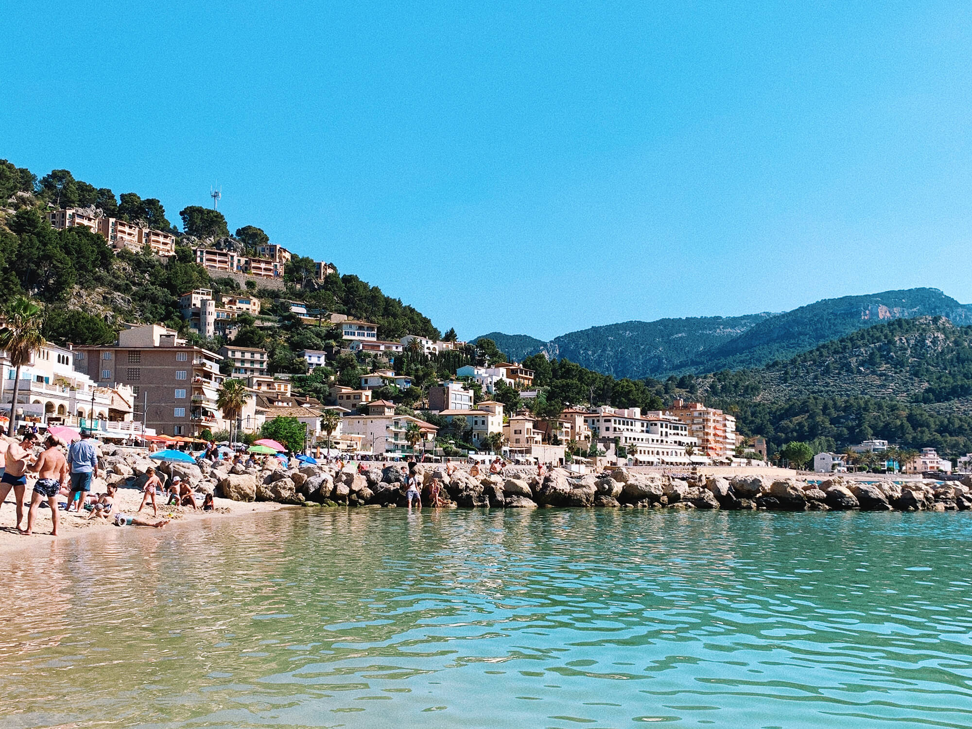 Mallorca travel guide, Port de Soller, best beach in Mallorca