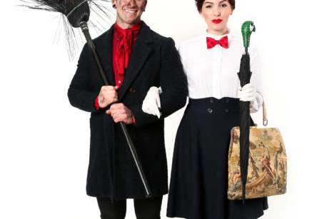 Halloween Couples Costume Idea: Mary Poppins and Bert